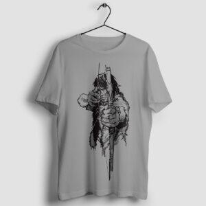 Thorgal z łukiem - T-shirt szary - wieszak