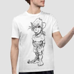 J'on - T-shirt męski biały
