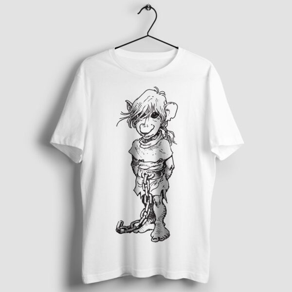 J'on - T-shirt biały - wieszak