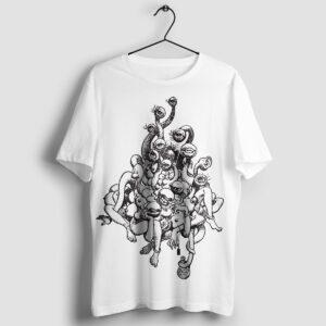 Volga - T-shirt biały - wieszak