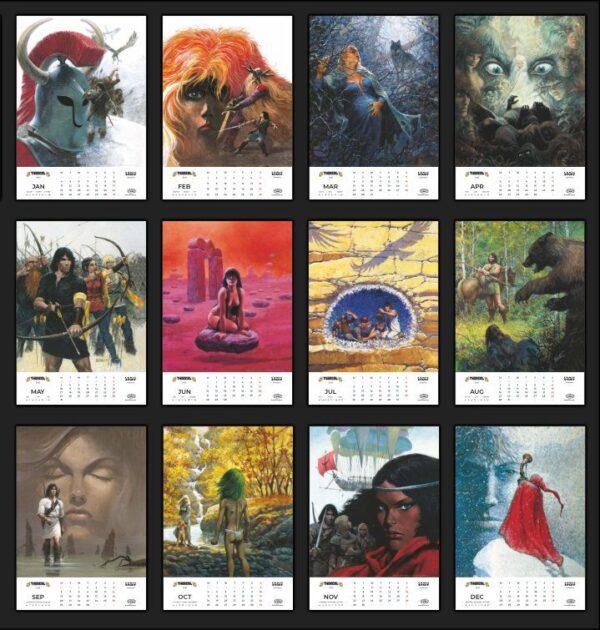 Thorgal calendar 2021 - all months
