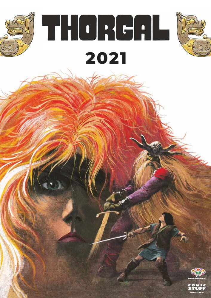 Thorgal calendar 2021 cover