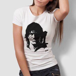 Thorgal portret - T-shirt damski biały