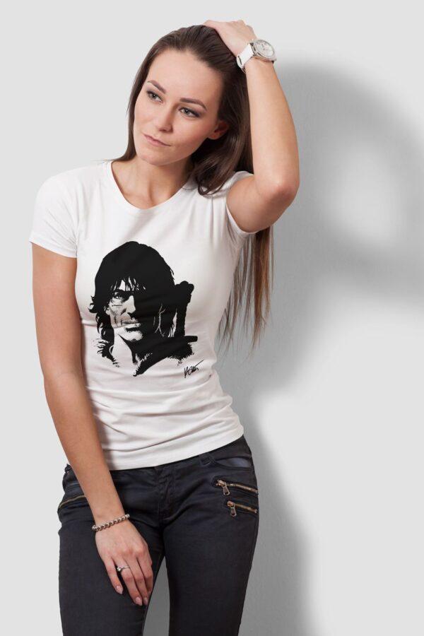 Thorgal portret - T-shirt damski biały - model