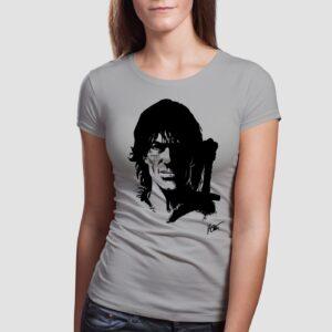 Thorgal portret - T-shirt damki szary