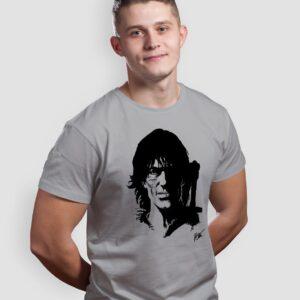 Thorgal portret - T-shirt męski szary - model