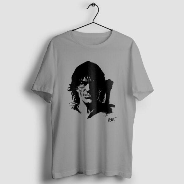 Thorgal portret - T-shirt szary - wieszak