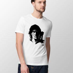Thorgal portret - T-shirt męski biały - model