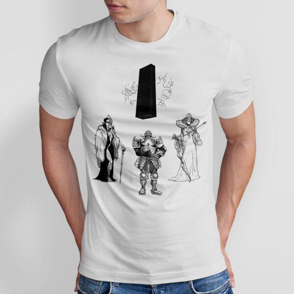Władcy - T-shirt męski biały