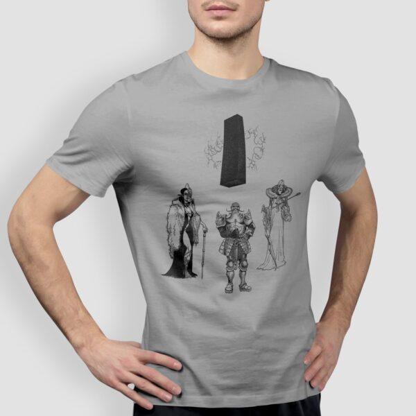 Władcy - T-shirt męski szary