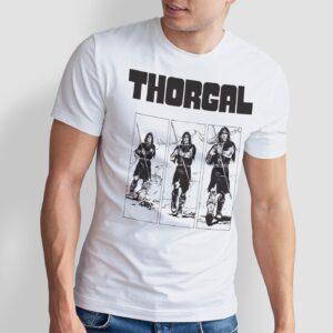 Thorgal kadry - T-shirt męski biały