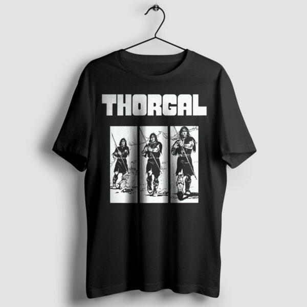 Thorgal kadry - T-shirt czarny - wieszak