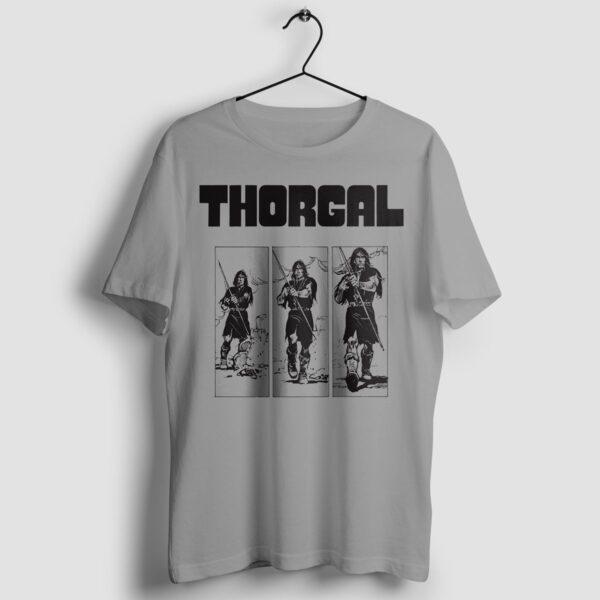 Thorgal kadry - T-shirt szary - wieszak
