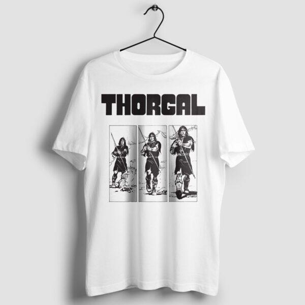 Thorgal kadry - T-shirt biały - wieszak