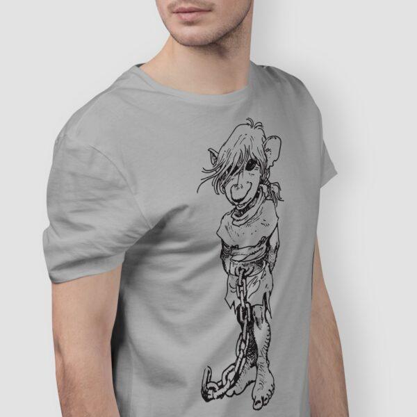 J'on - T-shirt szary