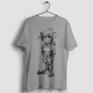 J'on - T-shirt szary - wieszak