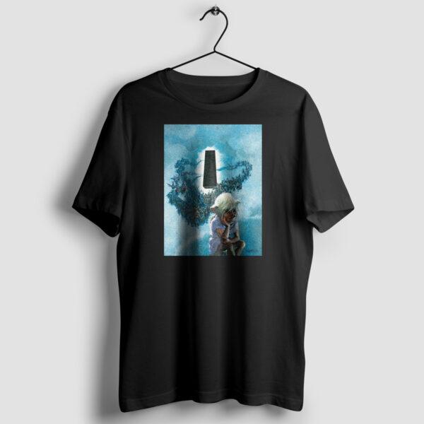 Thorgal okładka - T-shirt czarny - wieszak