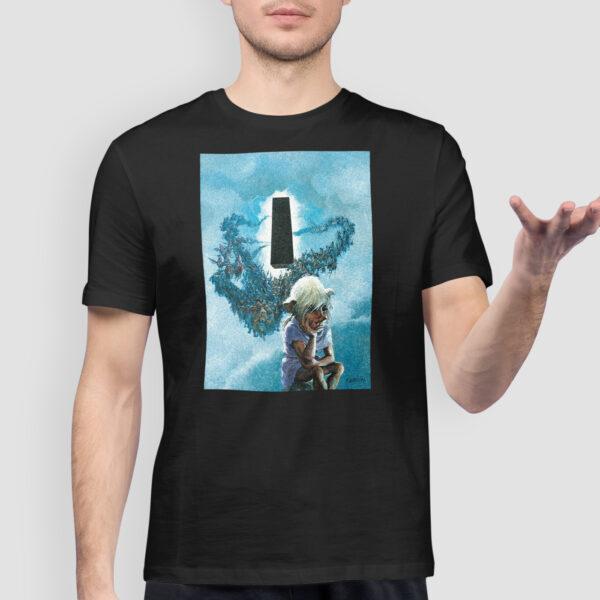 Thorgal okładka - T-shirt czarny